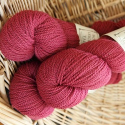 Hot Pink Uschi Pink 4 ply pure British yarn from the Doulton Flock